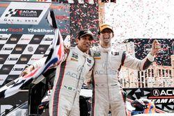 I vincitori della gara Helio Castroneves, Ricky Taylor, Acura Team Penske