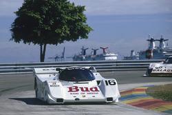 IMSA im Bicentennial Park in MIami 1990: #16 Dyson Racing Porsche 962: James Weaver, Scott Pruett