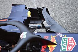 Red Bull Racing RB14 sidepod and barge board