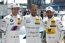 Top 3 after qualifying: Pole position for Gary Paffett Mercedes-AMG Team HWA, second place Marco Wittmann, BMW Team RMG, third place Timo Glock, BMW Team RMG