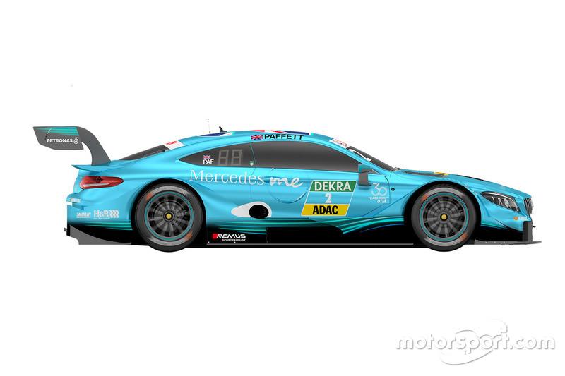 #2 Gary Paffett, Mercedes-AMG Team HWA, Mercedes-AMG C63 DTM