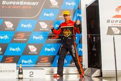 Podium: second place David Reynolds, Erebus Motorsport Holden