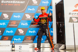 Podium: second place David Reynolds, Erebus Motorsport Holden