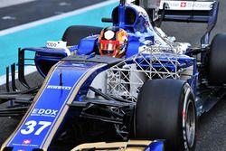 Charles Leclerc, Sauber C36 met aerodynamische sensoren