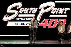 Las Vegas Motor Speedway Monster Energy NASCAR Cup Series race logo presentción