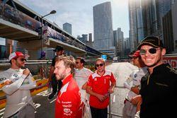 Daniel Abt, Audi Sport ABT Schaeffler, Nick Heidfeld, Mahindra Racing, Felix Rosenqvist, Mahindra Ra
