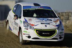 Stafano Fanti, Peugeot 208 R2B