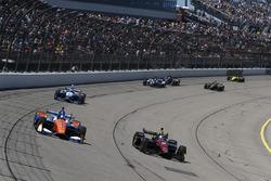 Robert Wickens, Schmidt Peterson Motorsports Honda, Scott Dixon, Chip Ganassi Racing Honda