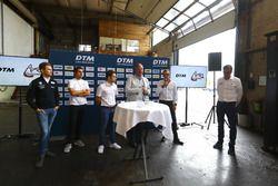 Marco Wittmann, BMW Team RMG, Daniel Juncadella, Mercedes-AMG Team HWA, Robin Frijns, Audi Sport Team Abt Sportsline, Bernhard van Oranje