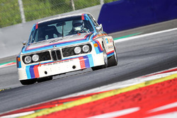 Toine Hezemans, BMW 3.0 CSL during the Legends Parade