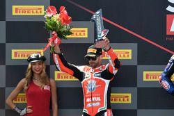 Podium: second place Raffaele De Rosa, MV Agusta Reparto Corse by Vamag