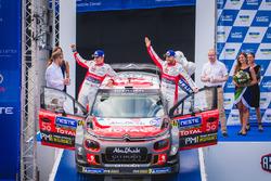Segundos Mads Ostberg, Torstein Eriksen, Citroën C3 WRC, Citroën World Rally Team