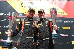 Podium: #47 Jetstream Motorsport Aston Martin V12 Vantage GT3: Graham Davidson, Maxime Martin