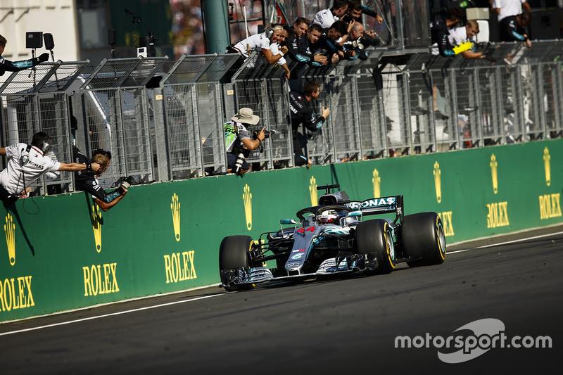 Victoria de Lewis Hamilton, Mercedes AMG F1 W09