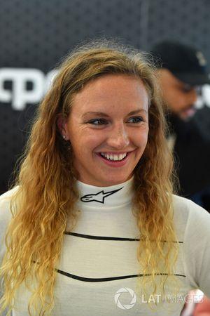 F1 Experiences 2-Seater passenger Katinka Hosszu, Olympic swimmer