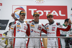 Podium: Winners #34 Walkenhorst Motorsport BMW M6 GT3: Philipp Eng, Tom Blomqvist, Christian Krognes
