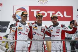 Podium: Winners #34 Walkenhorst Motorsport BMW M6 GT3: Philipp Eng, Tom Blomqvist, Christian Krognes