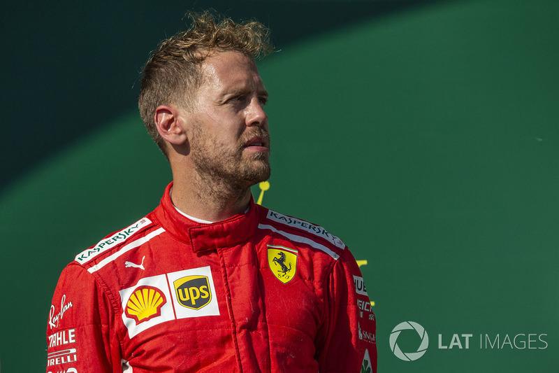 2e : Sebastian Vettel (Ferrari)