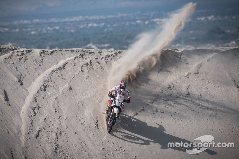 5. #61 Hero MotoSports Team Rally: Oriol Mena