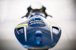 Detalle de la Suzuki GSX-RR 2018, Team Suzuki MotoGP