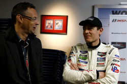 Charles Bradley, Motorsport.com Editor in Chief with #67 Ford Performance Chip Ganassi Racing Ford GT: Richard Westbrook