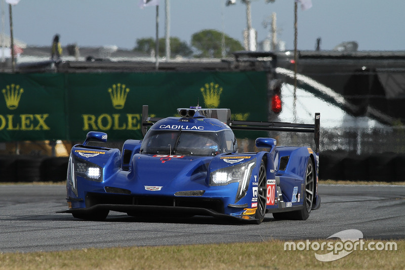 5.- #90 Spirit of Daytona Racing Cadillac DPi, P: Tristan Vautier, Matt McMurry, Eddie Cheever III