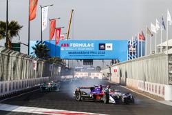 Alex Lynn, DS Virgin Racing, spins