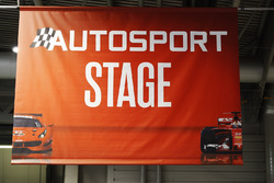 A sign for the Autosport Stage