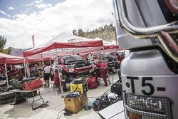 Toyota Gazoo Racing at the bivouac