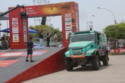 Артур Ардавичус, Серхе Брёйнкенс и Михел Хёйсман, Astana Motorsport Team de Rooy Iveco, Iveco Powerstar (№508)