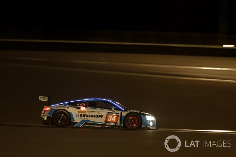 #34 Car Collection Motorsport Audi R8 LMS: Dr. Johannes Kirchhoff, Gustav Edelhoff, Elmar Grimm, Ing