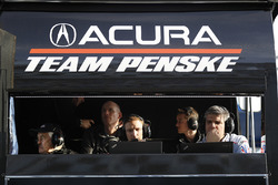 #6 Acura Team Penske Acura DPi, P: Roger Penske and engineers