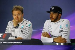 Press conference: Lewis Hamilton, Mercedes AMG, and Nico Rosberg, Mercedes AMG