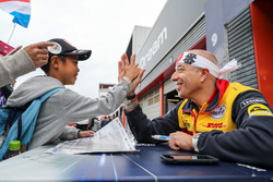 Tom Coronel, Roal Motorsport, Chevrolet RML Cruze TC1 with fans