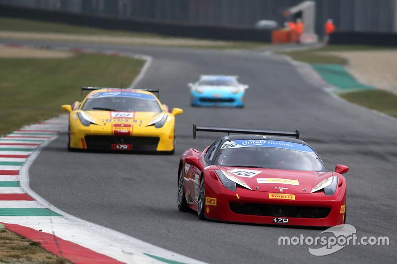 #722 Ferrari of Tampa Bay Ferrari 458: Luis Perusquia