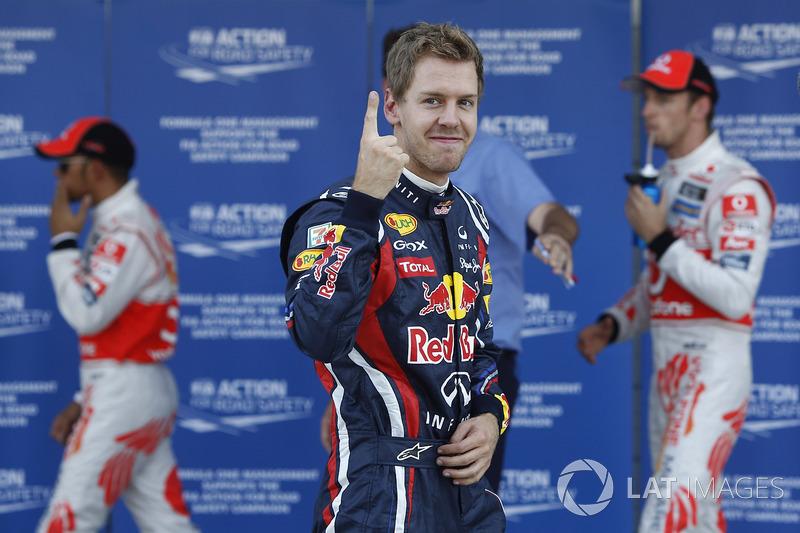 3. 2011 – Себастьян Феттель, Red Bull (82,5%)