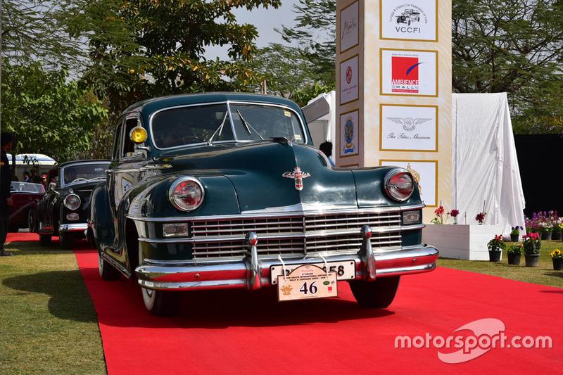 Chrysler Vintage Car At 21 Gun Salute Rally