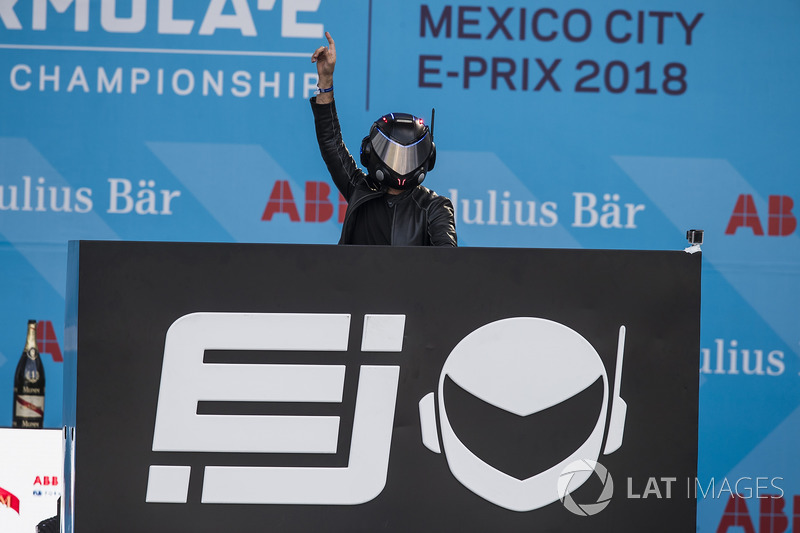 The EJ on the podium