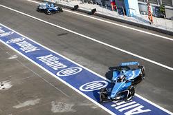 Nicolas Prost, Renault e.Dams, Sébastien Buemi, Renault e.Dams in the pitlane