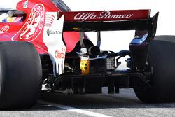 Marcus Ericsson, Alfa Romeo Sauber C37, dettaglio posteriore