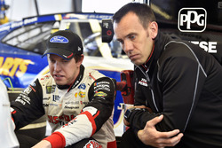 Brad Keselowski, Team Penske, Ford Fusion Discount Tire and Paul Wolfe