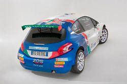 La Peugeot 208 T16 R5 di Paolo Andreucci e Anna Andreussi