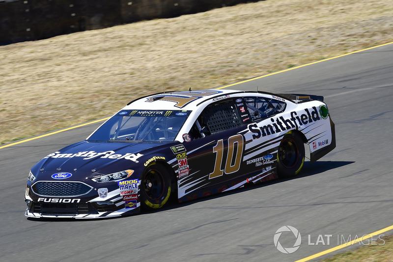 24. Aric Almirola, Stewart-Haas Racing, Ford Fusion Smithfield
