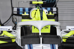 Williams FW41 detalle del halo