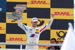 Podio: il terzo classificato Marco Wittmann, BMW Team RMG