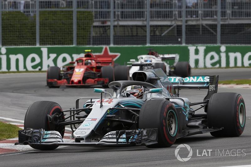 Lewis Hamilton, vijfde plaats