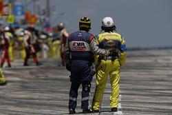 IndyCar pit lane oficiales