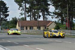 #29 Racing Team Nederland Dallara P217: Frits van Eerd, Giedo van der Garde, Jan Lammers, #97 Aston Martin Racing Aston Martin Vantage AMR: Alex Lynn, Maxime Martin, Jonathan Adams