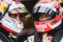 #8 Toyota Gazoo Racing Toyota TS050: Sébastien Buemi, Kazuki Nakajima