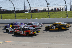 Riley Herbst, Joe Gibbs Racing, Toyota Camry Advance Auto Parts, Kaz Grala, Fury Race Cars LLC, Ford Mustang NETTTS, Cole Custer, Stewart-Haas Racing, Ford Mustang Haas Automation and Ryan Truex, Kaulig Racing, Chevrolet Camaro Phantom Fireworks